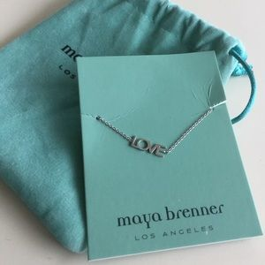 Maya Brenner Love Bracelet